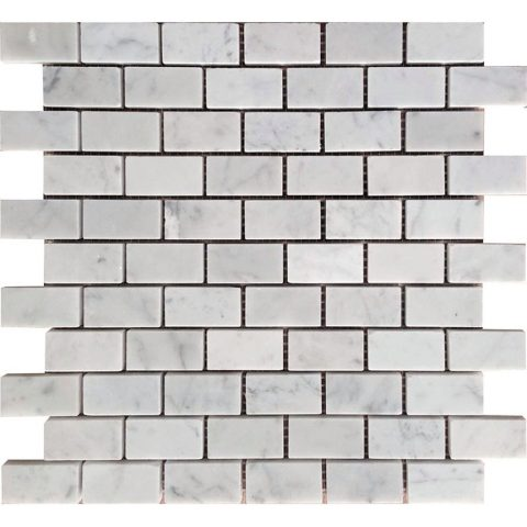 KB-R03H Carrara 1x2 Honed